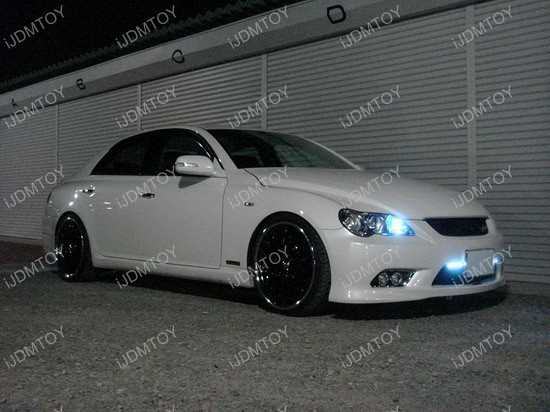 Toyota - Mark - X - Reiz - DRL - daytime - running - lights